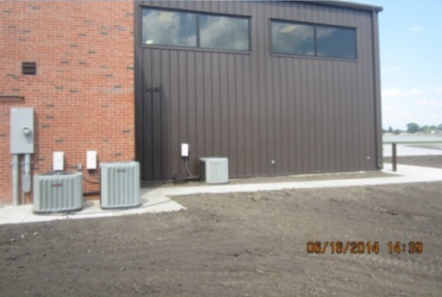 SAFB EOD Warehouse Addition Bldg 500, 375th Contracting, Scott Air Force Base, IL