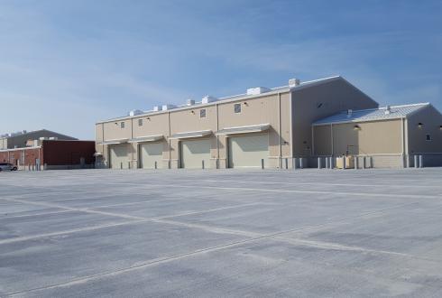 Commissioning, Unit Training Equipment Site (UTES), Camp Edwards, Bourne, MA